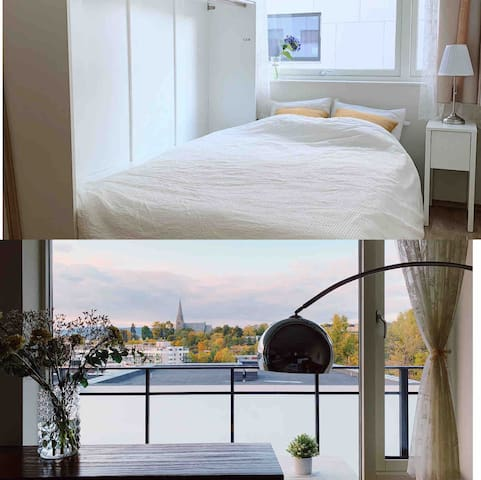 Modern and quiet room near central with nice view
