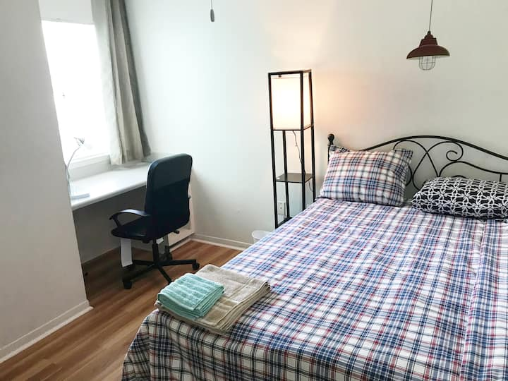 The room D near UF Campus is a cozy place to stay
