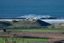 Surf is pumping today...view is from your bedroom.