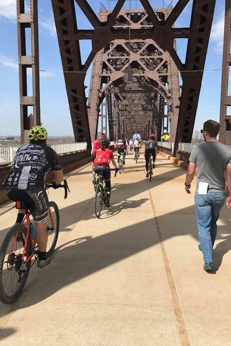 Bicycle & pedestrian bridges