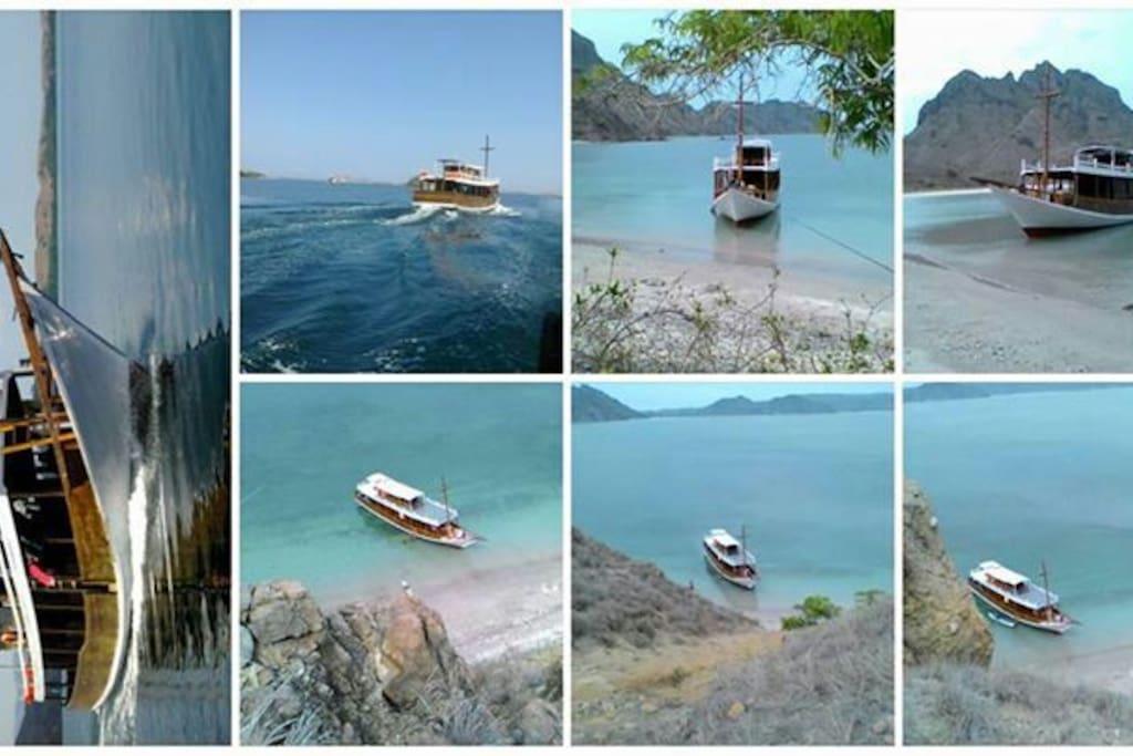 Komodo island cruise boat house bateaux louer for Salle de bain komodo