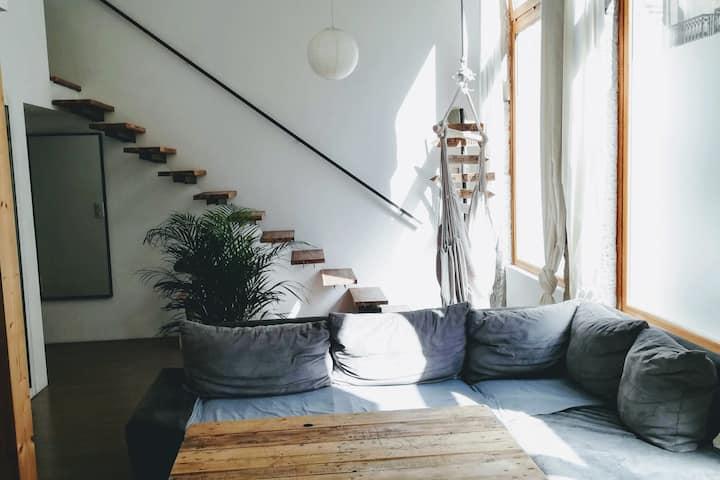 Loft design Saint-Etienne - Plein centre-ville