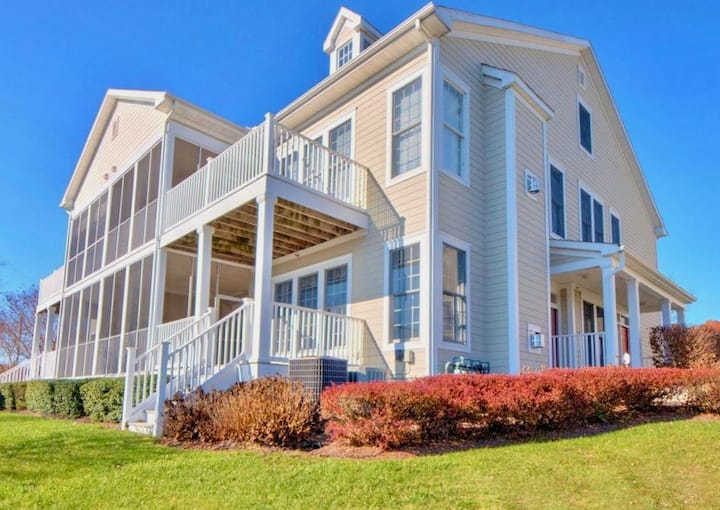 Bear Trap Dunes Resort * Bethany Beach * 212A WaterFront * 3BR  1st Flr  212AOG Golf Villa Home
