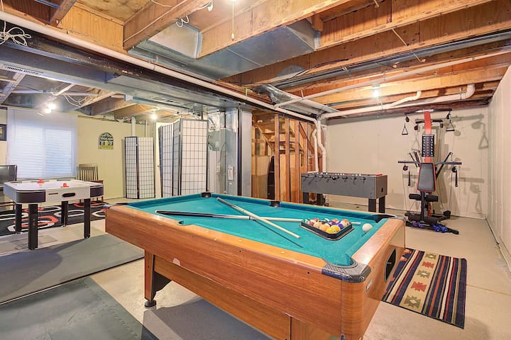 ❤️420 Friendly COZY Home Game Room Private Yard❤️