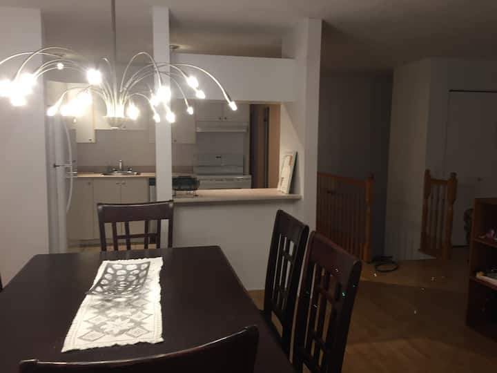 15 min d'Ottawa-Grand appartement .1 à 6 personnes