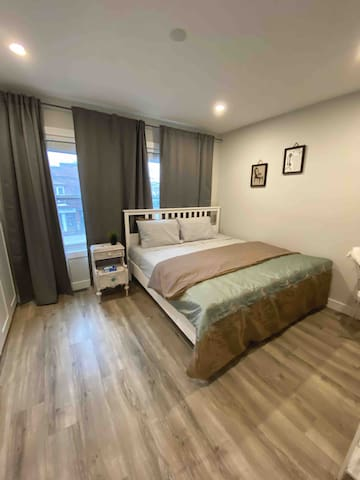 Spacious, comfortable, king size and private room!