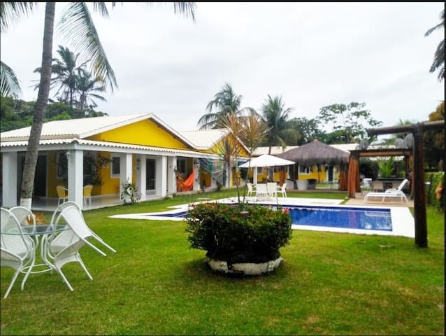 Casa na Ilha de Vera Cruz - Há 100 m da Praia