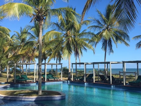 Casa de praia luxuosa e exclusiva