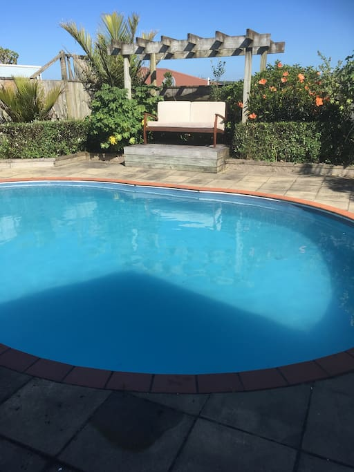 Pool available for a dip