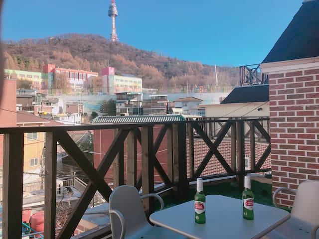 [Namsan park House] GREAT VIEW / Duplex whole use