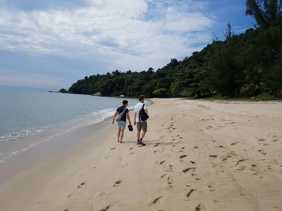 Pulau Betong Beach at Balik Pulau