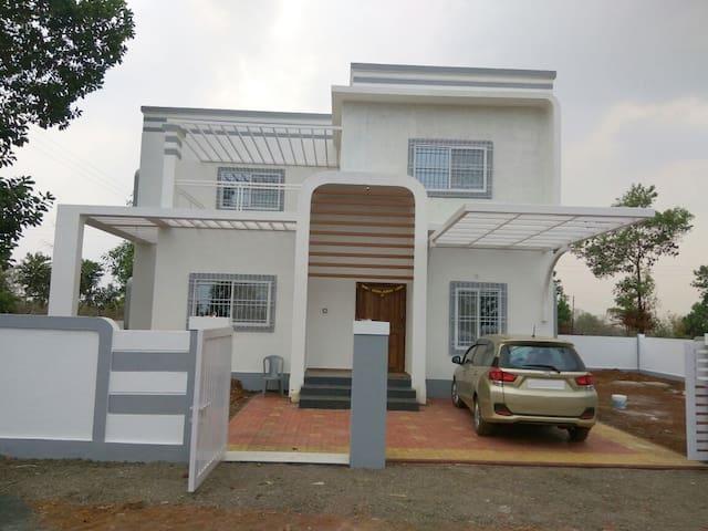 3bhk serene villa @Shahapur with a valley-view