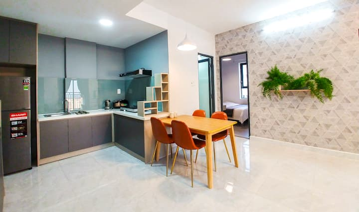 [Seaside] 2-Bedroom Apartment+Sunny Balcony-A3.10