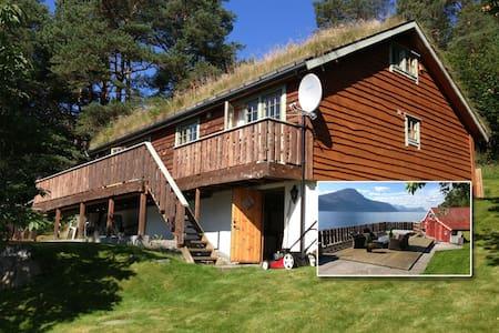 Summerhouse by the fjord - Ørskog - Chatka