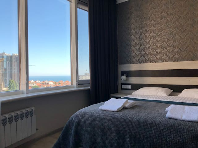 03 Arcadia Apartment, near the BEACH! Sea view!
