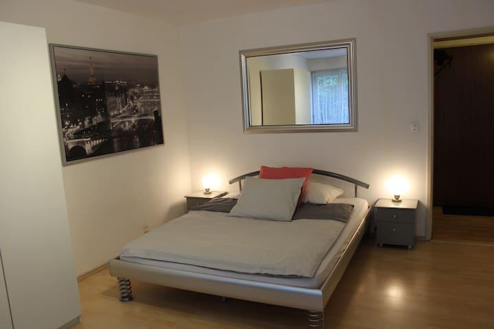 Zentrale ruhige 1-Zimmerwohnung (Gartensitzplatz)