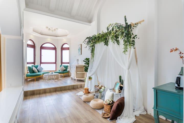青岛·HighStone·海石居度假别墅A栋【全海景·8间客房·全屋地暖】