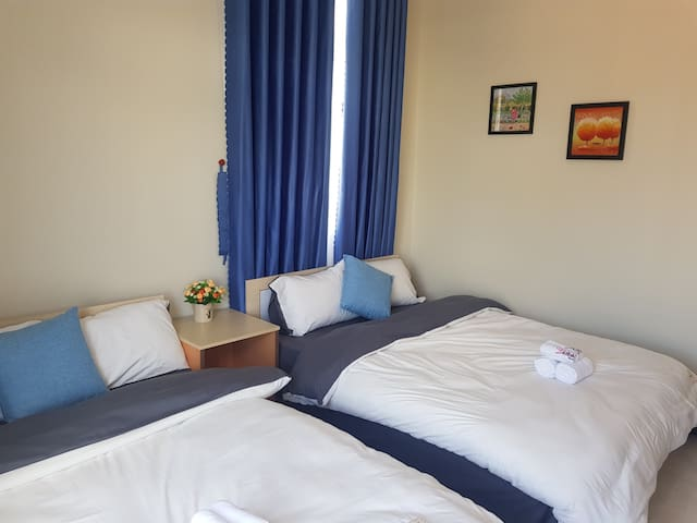 Dalatsunset's HEART*Lovely *2 beds*Balcony*A-102