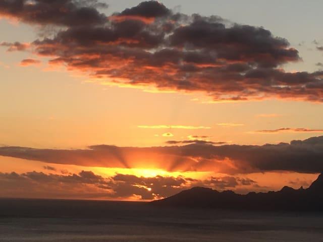 Taapuna sunset