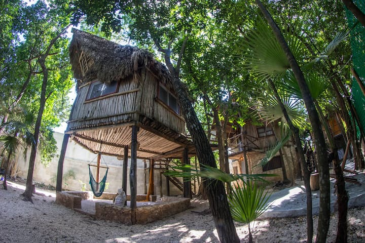Casita Kuxtal / Tree House with pool! Cabin 2