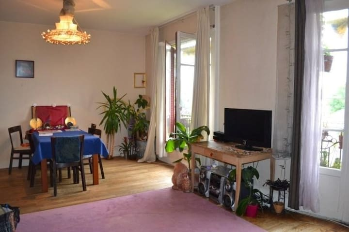 Appartement bien placé tout confort - Suresnes - Apartament
