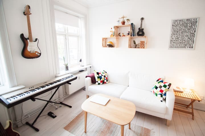 Bright and cozy apartment in Copenhagen, Vesterbro