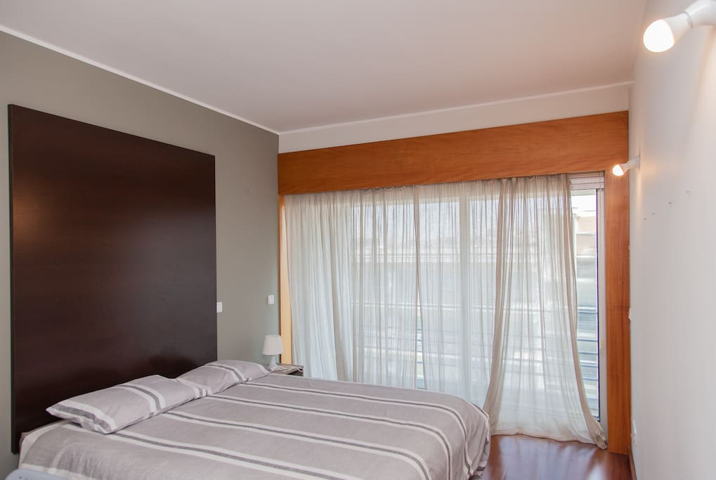 Suite (1st room). Double bed.
