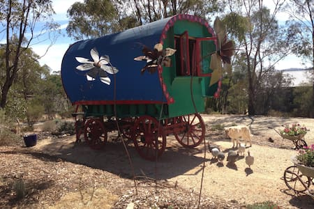 Cosy Original 1850's Cira Gypsy Wagon - Elphinstone