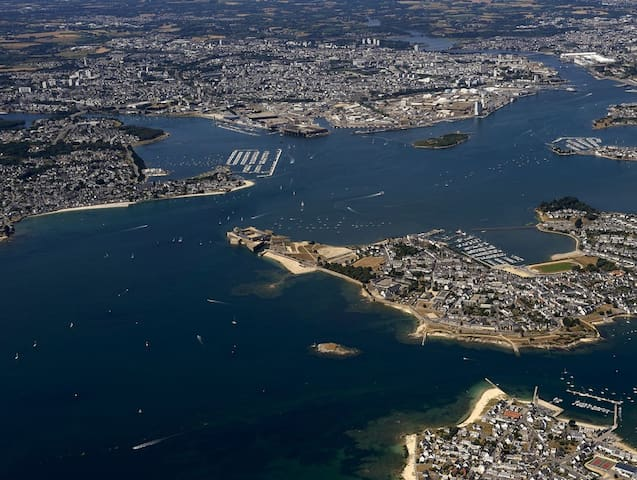Lorient In the heart of the city.