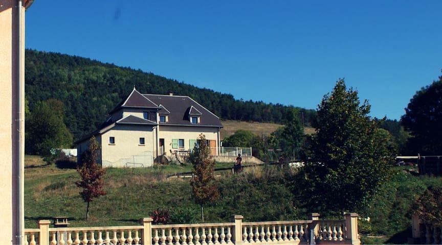 grande maison 200m2 pour 15pers - Roissard - House