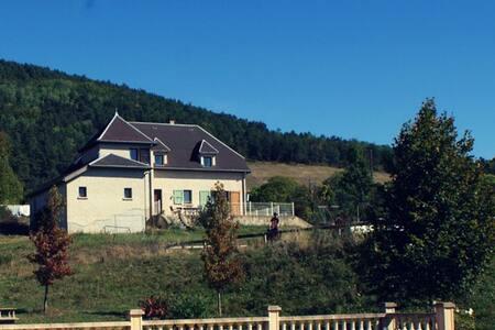 grande maison 200m2 pour 15pers - Roissard - Hus