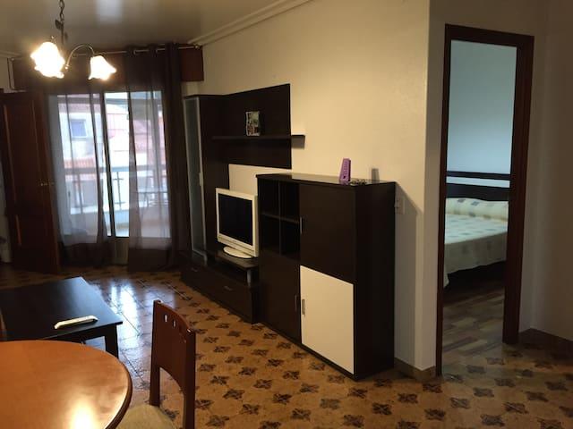 Acogedor apartamento en plena playa en Vilagarcía - Villagarcía de Arosa - Apartment