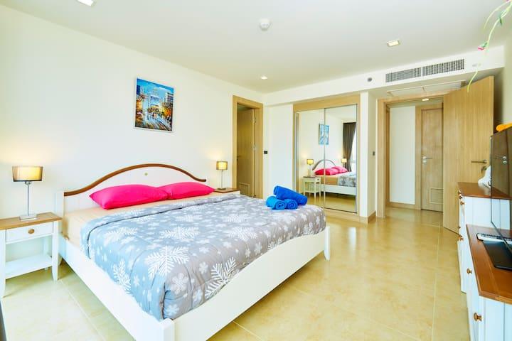 THE CLIFF ,2 bedrooms condo - Muang Pattaya - Byt