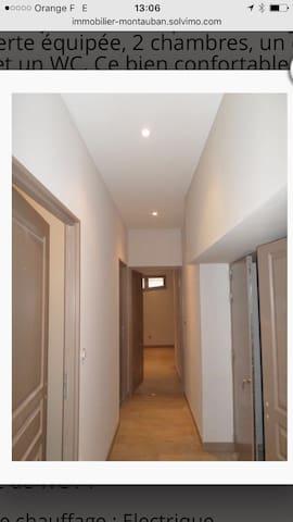 Apartement au centre-ville de montauban - Montauban - Apartamento