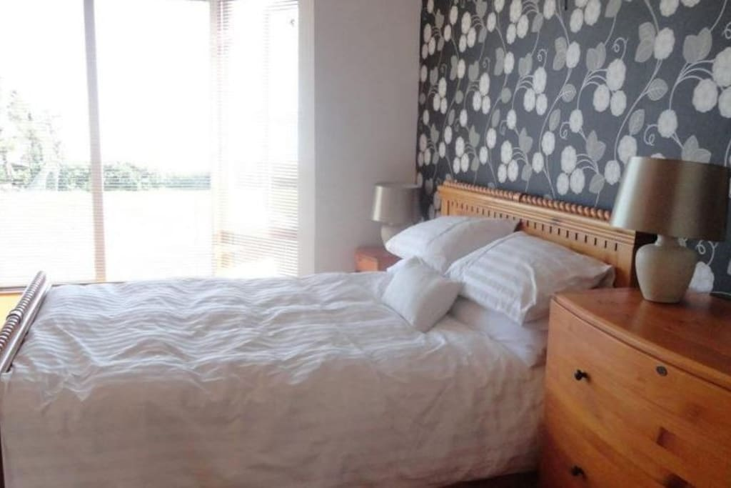 View and listen to the sounds of Galway Bay from your bedroom