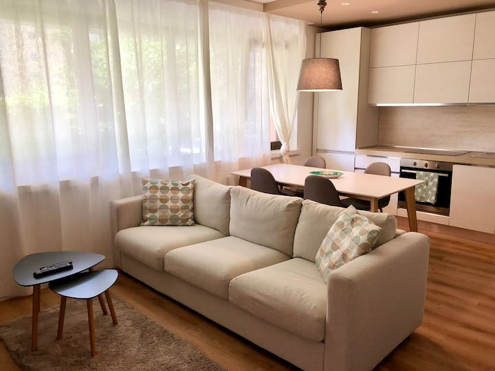 New & Modern Apartment in the Center of Locarno