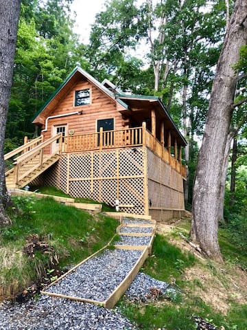 The Bear Paw - New cabin close to Asheville!