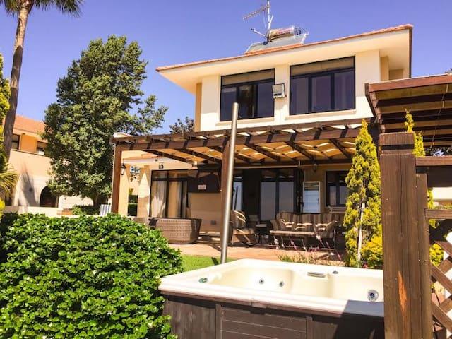 Enalos BeachFront Villa