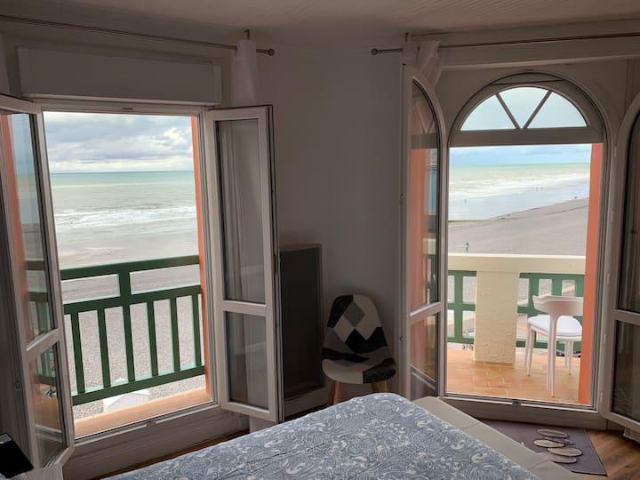 Appartement 40m2 avec vue panoramique sur mer