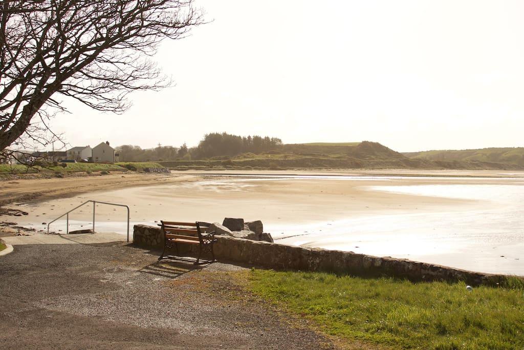 Inver beach from near Fannaghan