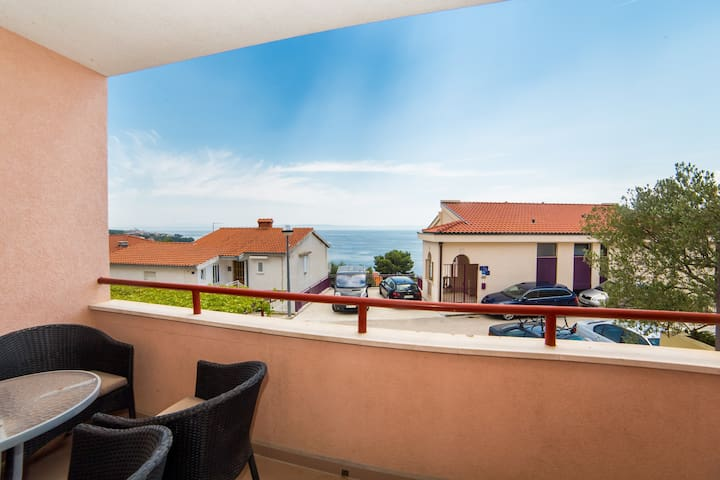 Apartment Clear Sky - Two Bedroom Apartment with Partial Sea View