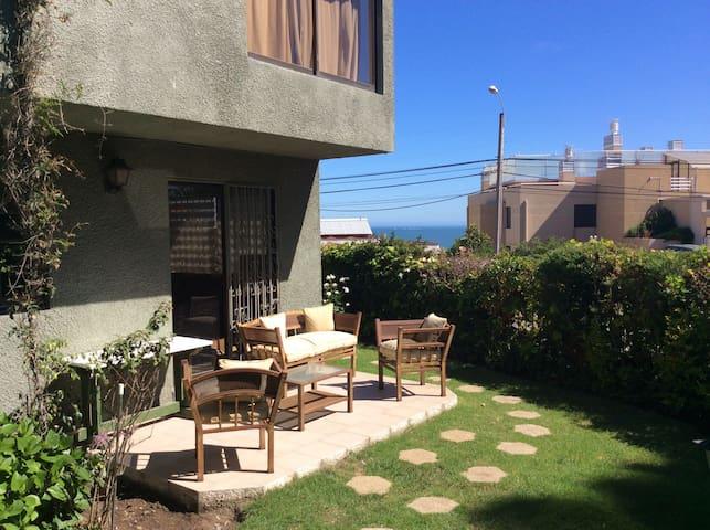 Casa-depto. ideal para familia en Higuerillas Concón - Con Con - House