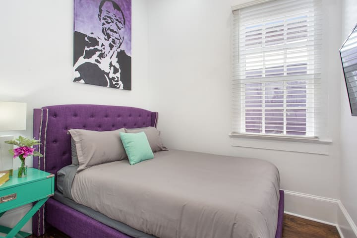 Bedrooms include: Queen sized pillow top mattress, silky smooth linens, spacious closet, television, and comfortable ambiance.