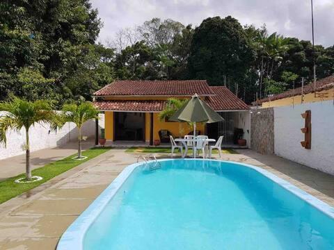 Havuz kenarında sahil evi: Murubira, Mosqueiro