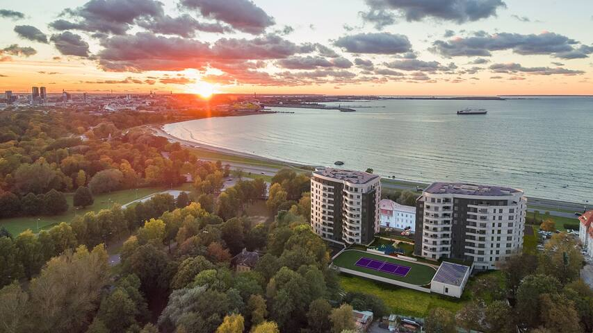 Meerhof luxury apartment in Tallinn, free parking