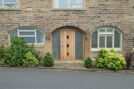 Luxury apartment in Pennines within 18thC house - Holmbridge - Apartemen