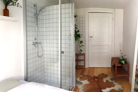 Cute private room between Flagey and Chatelain - Ixelles - Lakás