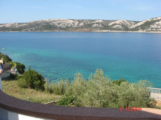 One bedroom apartment near beach Stara Novalja, Pag (A-13938-d)