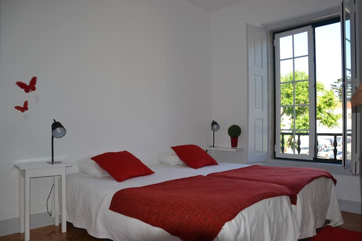 Double room view Monastery (shared bathroom) - Alcobaça - Other