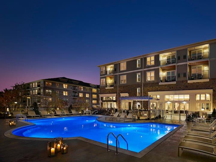 Sparkling Clean 1Bd Apt | Resort Style Amenities